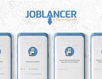 Job Application UI Design