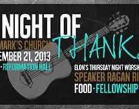A Night of Thanks Visual