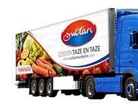 Sultan Market Kütahya Truck Design