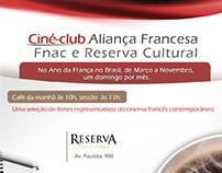 Aliança Francesa SP: Ciné-club