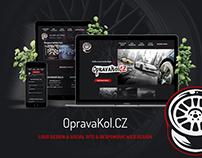 OpravaKolCZ, marketingový internetový projekt
