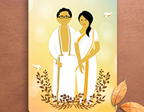 Commissioned Art for Vivek & Veena