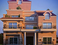 Mediterranean Residential Villa – Cairo – Egypt