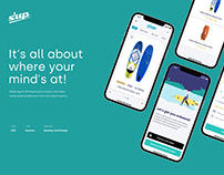 S'UP - Mobile app for SUP board rental company