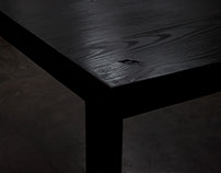 Ebony Table
