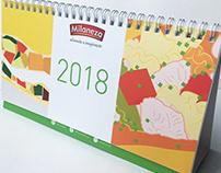 Calendar Illustrations 2018