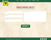 Ortegas Nopalitos - Website Design + Programing