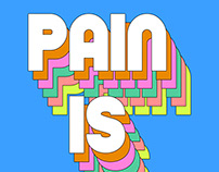 Pain is brief