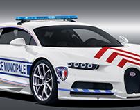 Bugatti Chiron Police Municipale