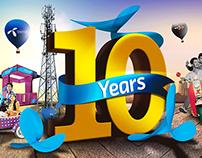 Telenor 10 years