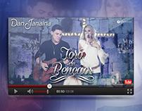 Dan e Janaina | Toró de Bençãos (Lyric Vídeo)