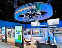 Samsung Main Exhibit CES 2015