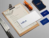 LOLA Restaurant // Branding