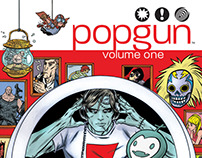 Popgun Volume 1  - Comic Book Lettering
