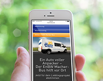 EnBW Macher-Bus – Web Development