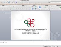 Asoc. Méx-China: Template para powerpoint