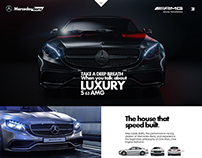 Mercedes - Benz Web design