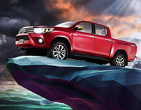 "Toyota Hilux · ""Long Live the Queen"""