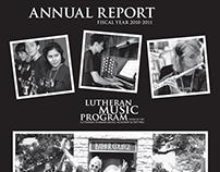 Lutheran Music Program: Annual Report