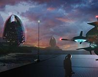 Scifi Speedpainting