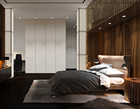Bedroom apartment for a young family