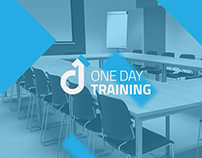 One Day Training logo & website