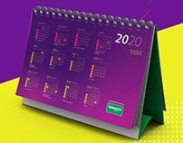Calendário 2019 Unimed