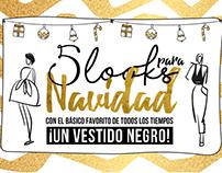 5 locks para Navidad by Rosshanna Bracho