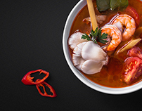 Photo&posters for asian restaurant MEIWEI