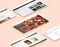 Peperoni Pizzeria - Web Design