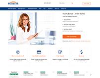 Surety1.com Design and WordPress Build