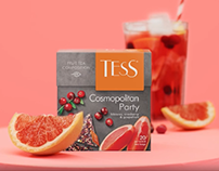 TESS Tea commercial video 2020