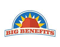 Big Benefits Logo Design