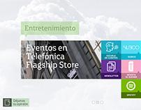 Movistar. Telefónica Flagship Store.