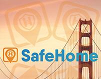 Safehome logo design