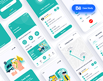 Pacel Delivery Mobile App UI Case Study