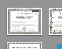 Document Design (Capital Good Fund)