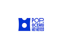 《POPOCEAN》品牌设计—深海O脂海藻面,宵夜黑科技。