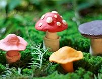 Mushroom Claymation
