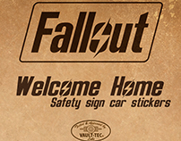 Fallout: Baby on Board stickers