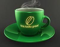 Coffee Cup Mockup Freebie PSD