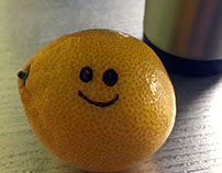 satsuma & other food smiling