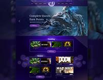 Game portal concept