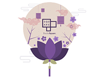 Mid-Autumn Festival Posters / Chengdu
