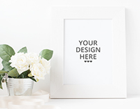 Free Picture Frame Mockup.