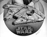 SW pencil drawing