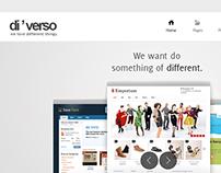 diverso site design