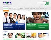 Propuesta website CONEVAL