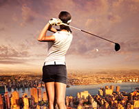The Woman Golfer