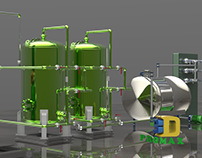Proceso de Purificación de Agua 3D